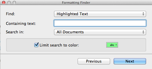 Image of Formatting Finder window