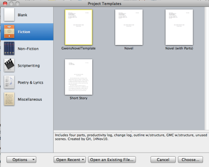 tech tuesday project templates revisited for scrivener 2 x gwen