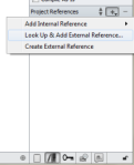 Add an External Reference (PC)